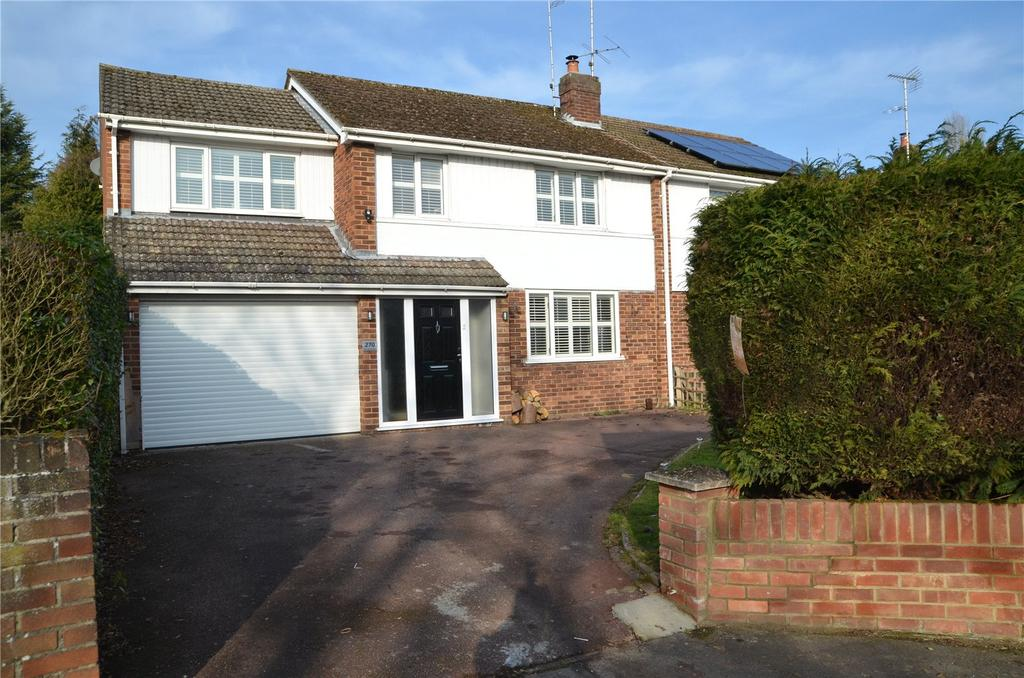 4 Bedrooms Semi Detached House for sale in Overdown Road, Tilehurst, Reading, Berkshire, RG31