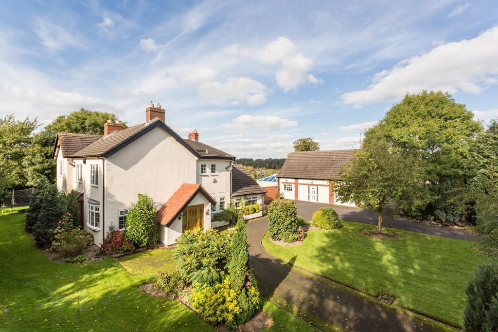 5 Bedrooms Detached House for sale in Pasturefields, Great Haywood, Stafford