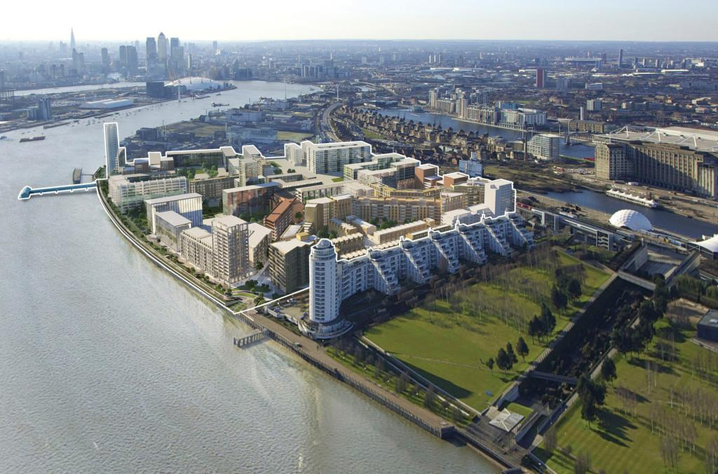 2 Bedrooms Apartment Flat for sale in Meridian Building, Royal Wharf, E16 1TD