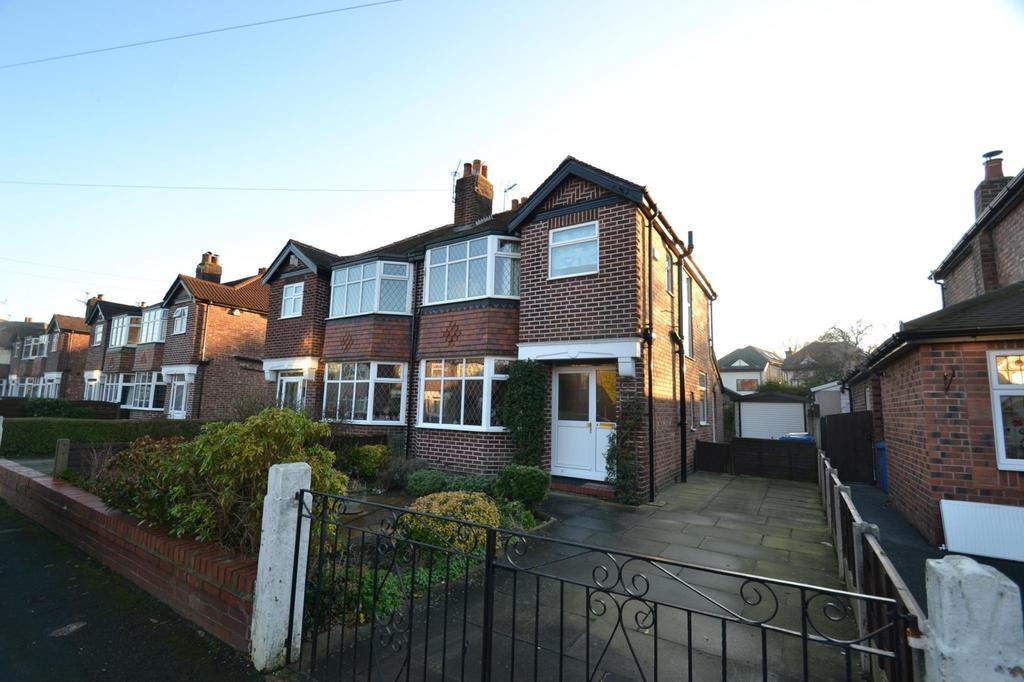 3 Bedrooms Semi Detached House for sale in Oulton Avenue, Sale
