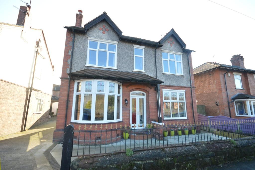 3 Bedrooms Detached House for sale in Thelwall New Road, Grappenhall, Warrington