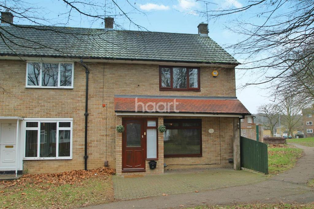 3 Bedrooms End Of Terrace House for sale in Paprills, Basildon