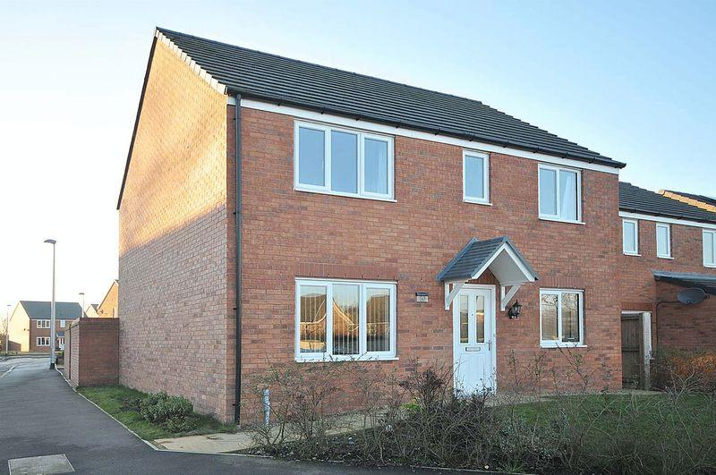 4 Bedrooms Detached House for sale in Jubillee Pastures, Middlewich