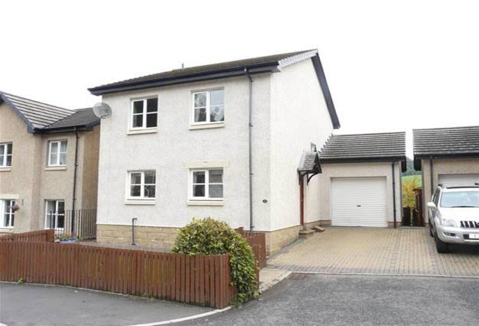 4 Bedrooms Detached House for sale in 11 Annfield Gardens, Galashiels, TD1 3DE
