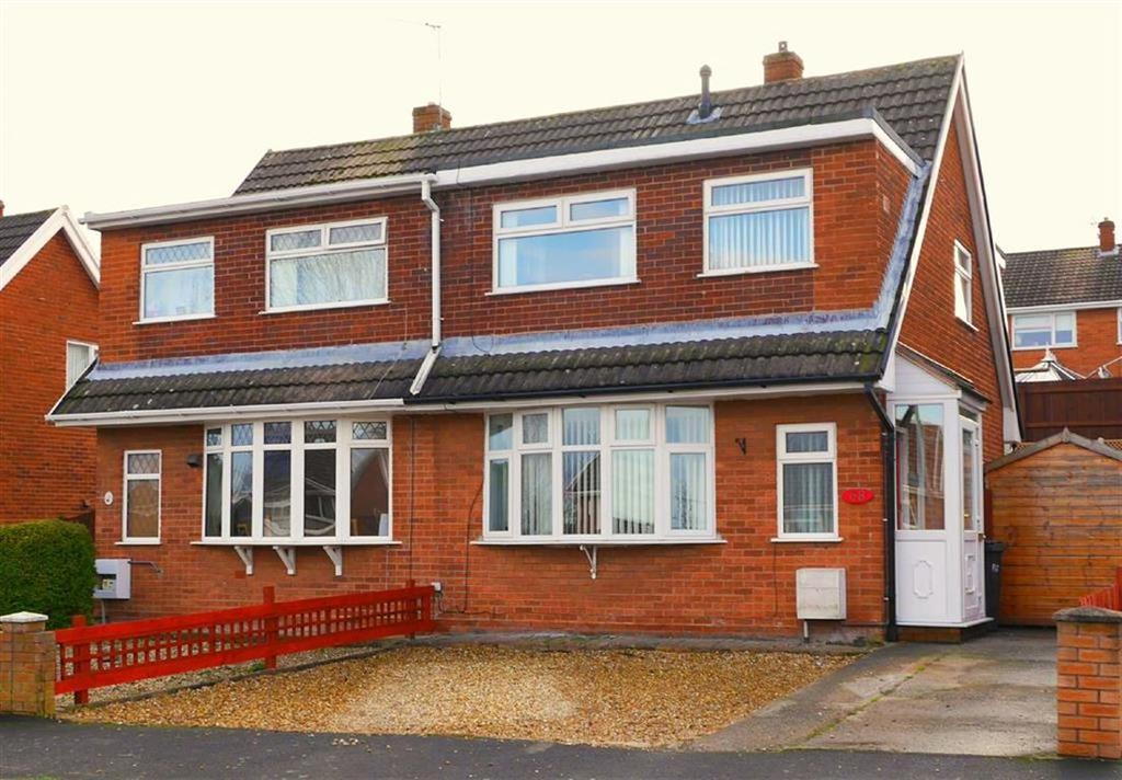 3 Bedrooms Semi Detached House for sale in Viking Way, Connah's Quay, Deeside, Flintshire