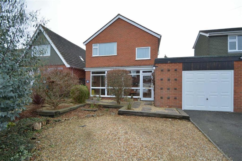 3 Bedrooms Detached House for sale in Cornwall Drive, Bayston Hill, Shrewsbury