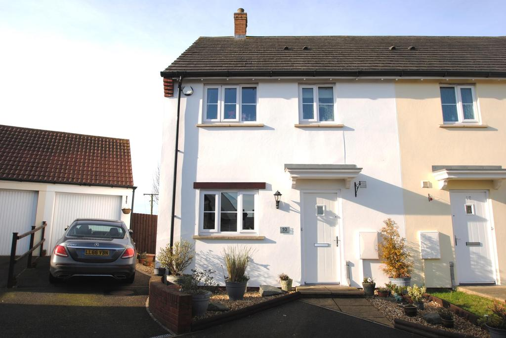 3 Bedrooms Terraced House for sale in Millhayes Farm, Hemyock