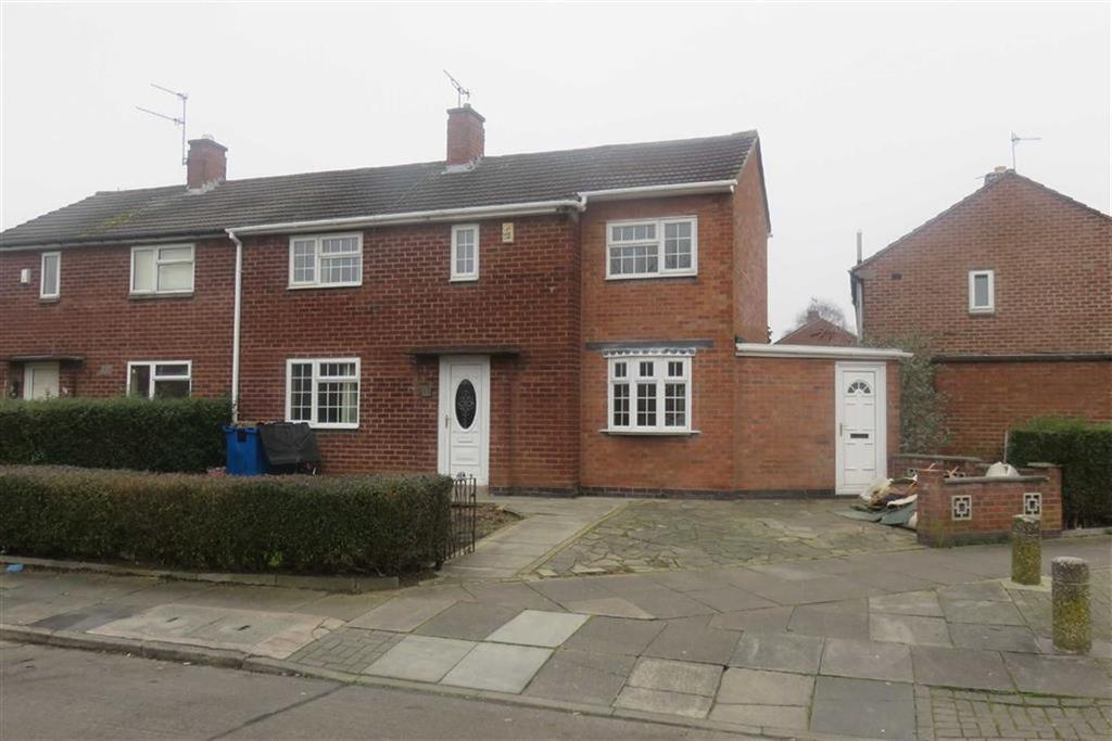 3 Bedrooms Semi Detached House for sale in Pen Close, Leicester