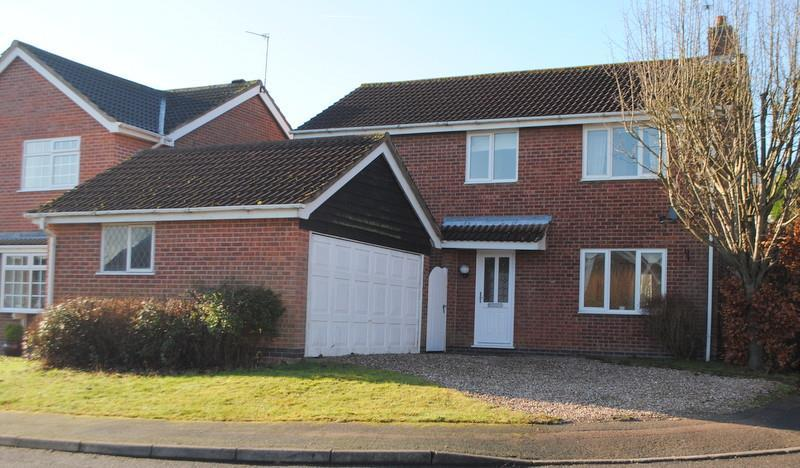 4 Bedrooms Detached House for sale in Nicolson Road, Loughborough