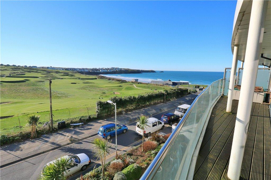 2 Bedrooms Apartment Flat for sale in 11 Pearl,, Headland Road, Newquay, Cornwall