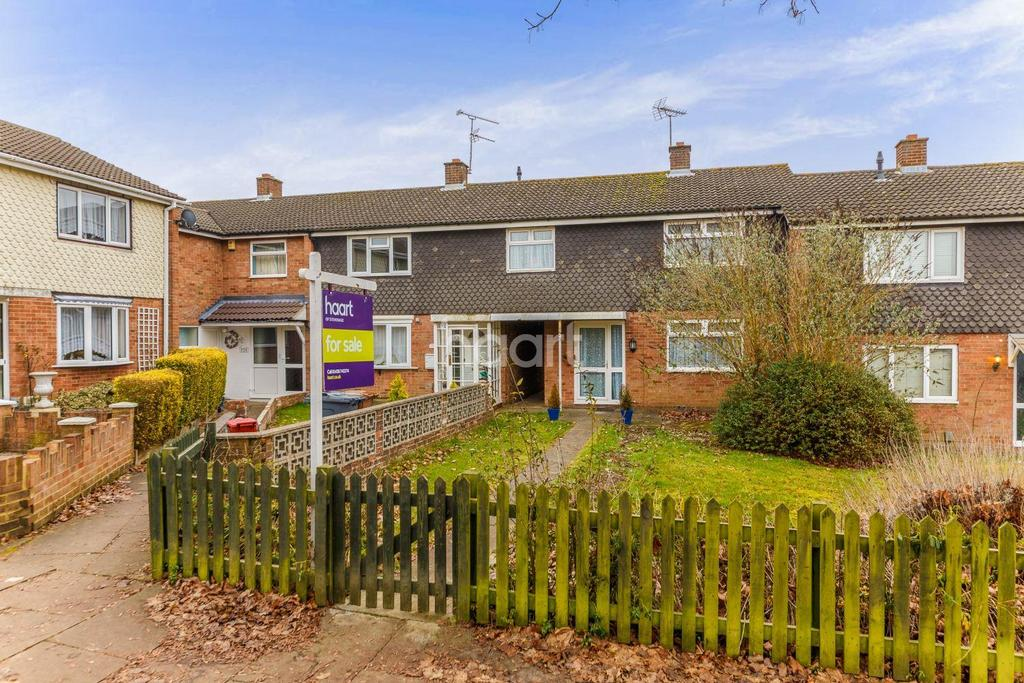 3 Bedrooms Terraced House for sale in Raleigh Crescent, Chells, Stevenage