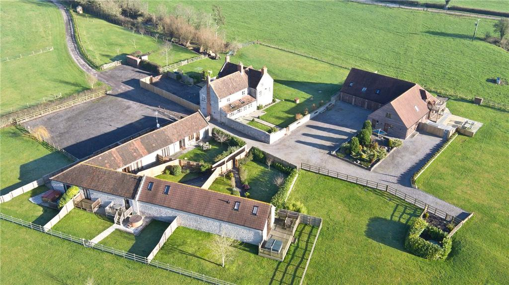 6 Bedrooms Detached House for sale in Withial, East Pennard, Shepton Mallet, Somerset, BA4