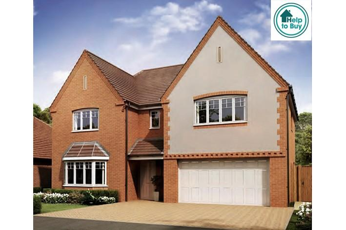 5 Bedrooms Detached House for sale in The Milton at Spring Meadows, Stonebow Road, Pershore