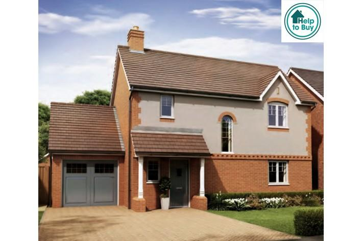 3 Bedrooms Detached House for sale in The Hanley at Spring Meadows, Stonebow Road, Pershore