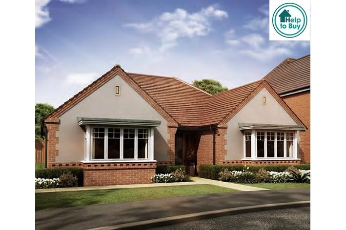 2 Bedrooms Detached Bungalow for sale in The Edgcote, Stonebow Road, Pershore