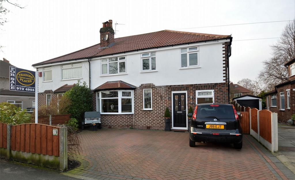 5 Bedrooms Semi Detached House for sale in Greenway Road,, Timperley, Cheshire