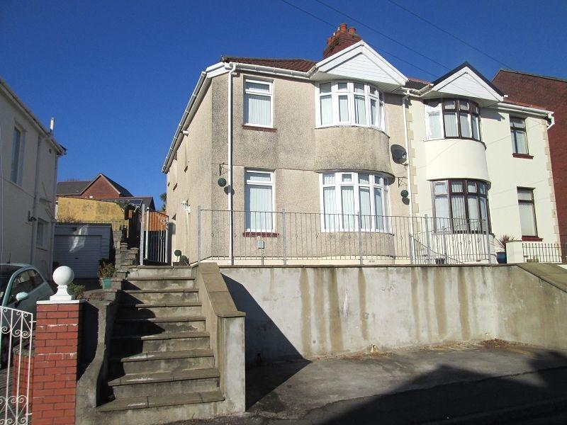 3 Bedrooms Semi Detached House for sale in Brynawel Crescent, Treboeth, Swansea, City County of Swansea.