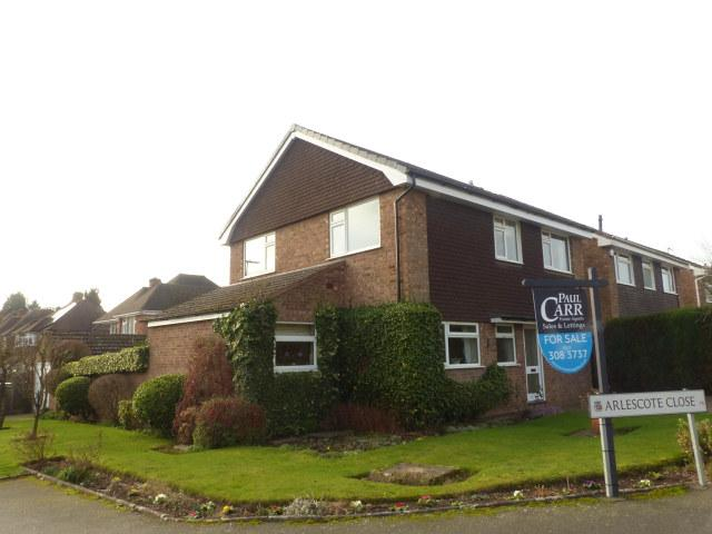4 Bedrooms Detached House for sale in Arlescote Close,Four Oaks,Sutton Coldfield