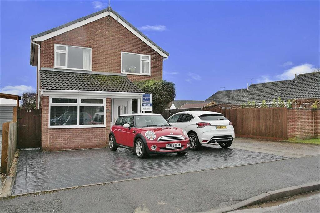 3 Bedrooms Detached House for sale in Cheviot Way, Banbury, Oxfordshire, OX16