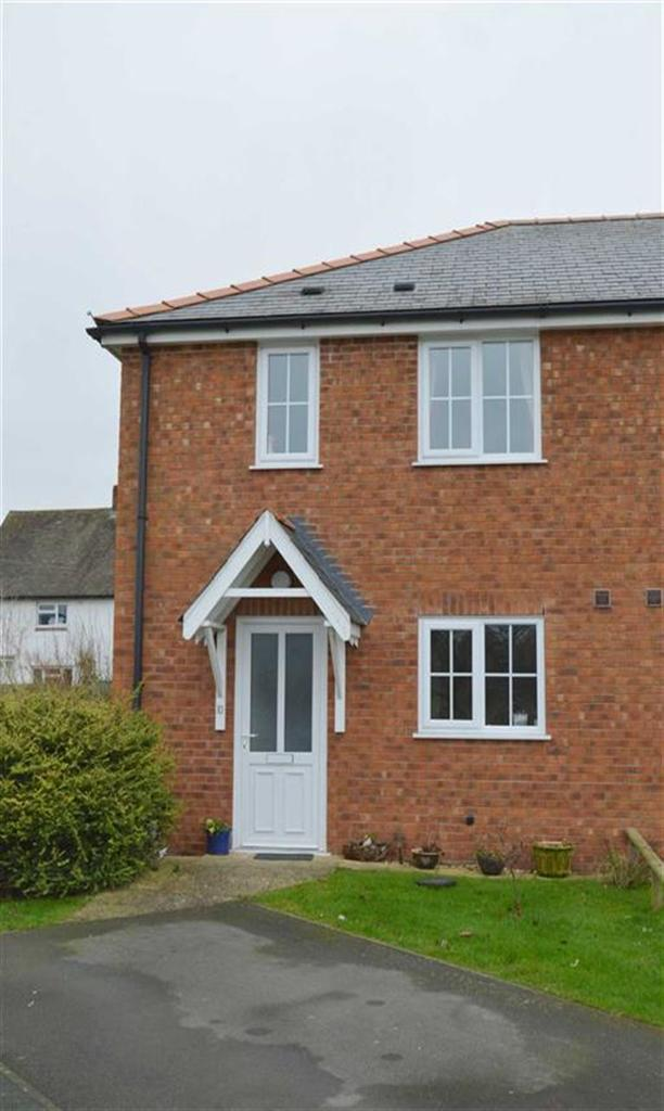 3 Bedrooms Semi Detached House for sale in 10, Plantation Close, Newtown, Powys, SY16