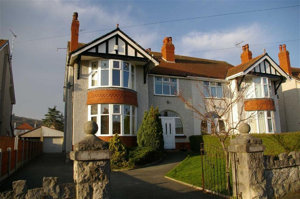 4 Bedrooms Semi Detached House for sale in St Georges Road, Rhos On Sea, Colwyn Bay
