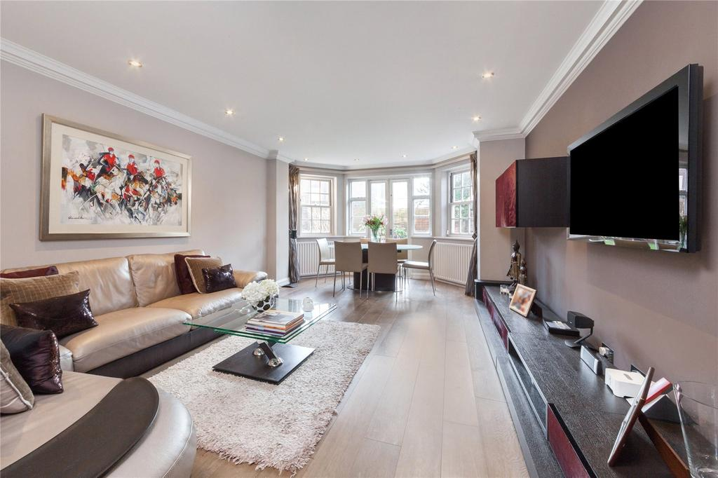 3 Bedrooms Flat for sale in Pattison Road, London