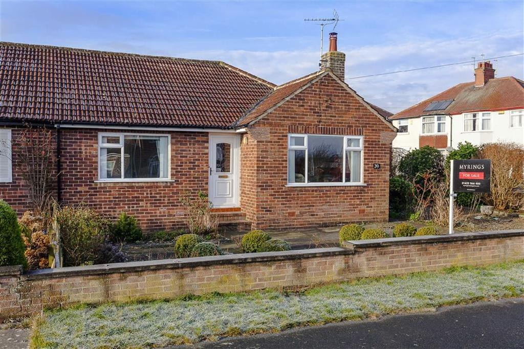 2 Bedrooms Semi Detached Bungalow for sale in Derwent Road, Harrogate, North Yorkshire