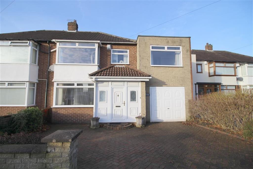 4 Bedrooms Semi Detached House for sale in Northfield Drive, Newcastle Upon Tyne