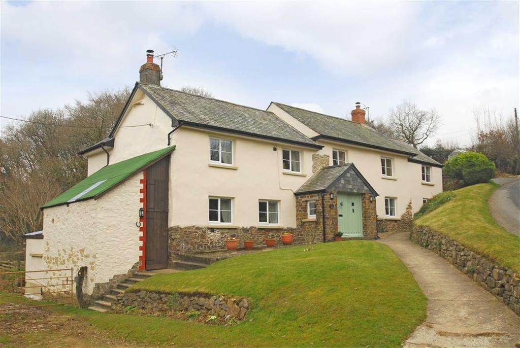 5 Bedrooms Detached House for sale in Ashreigney, Chulmleigh, Devon, EX18