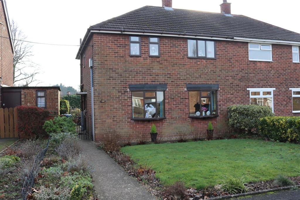 3 Bedrooms Semi Detached House for sale in Hill Top Avenue, Tamworth