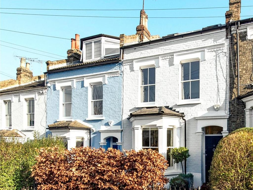 4 Bedrooms Terraced House for sale in Eland Road, Battersea, London, SW11
