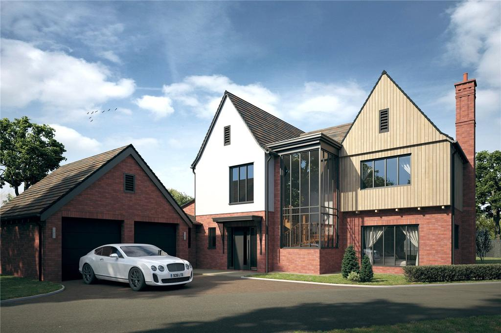 5 Bedrooms Detached House for sale in Carrick House - The Cedars, Pytches Road, Woodbridge, Suffolk, IP12