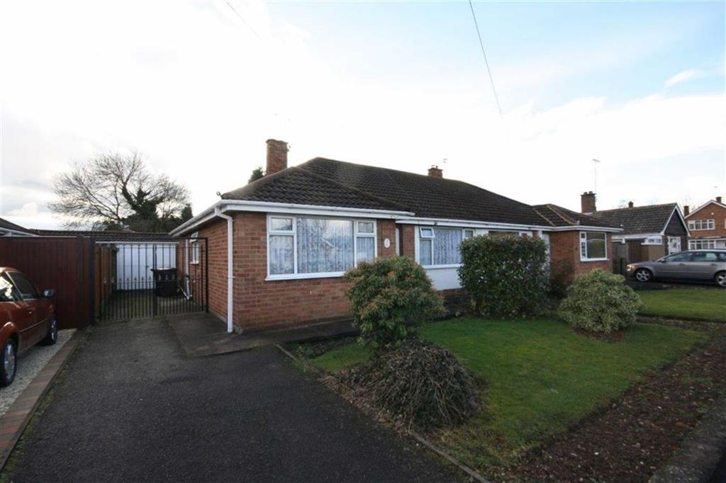 2 Bedrooms Semi Detached Bungalow for sale in Clay Avenue, St Nicolas Park, Nuneaton