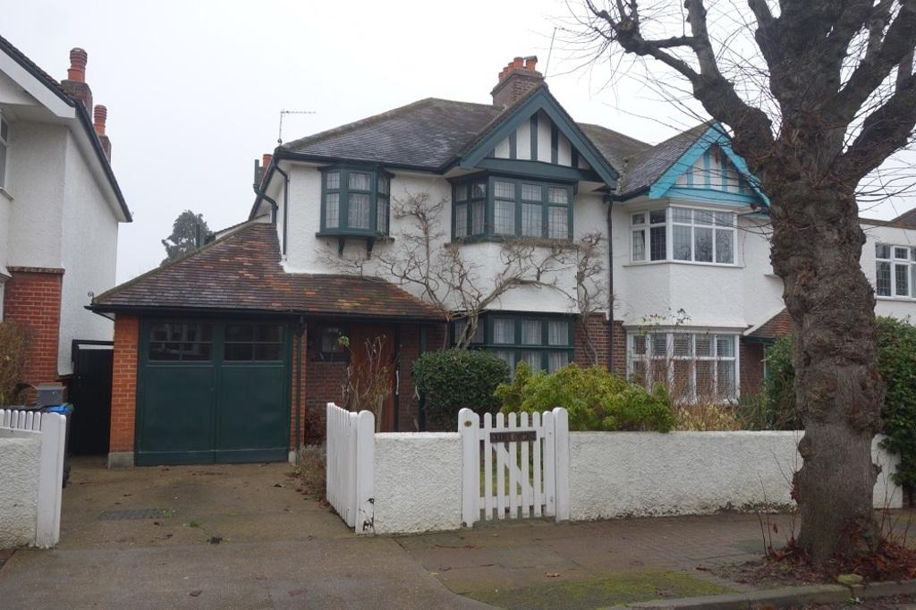 4 Bedrooms Semi Detached House for sale in Cranes Park Avenue, Surbiton, KT5 8BS