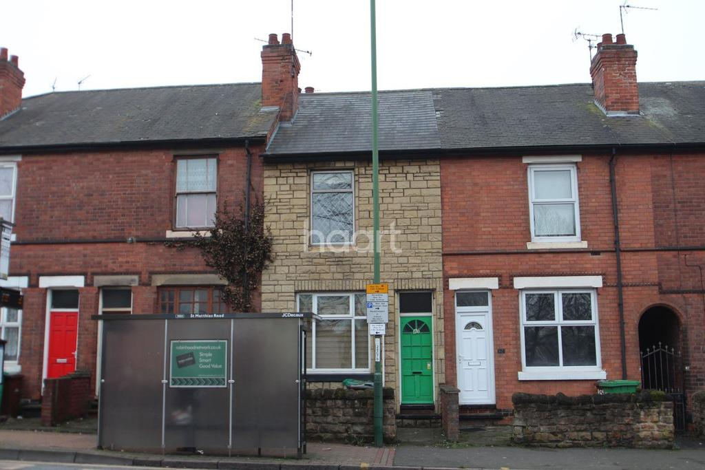 2 Bedrooms Terraced House for sale in Carlton Road, Nottingham