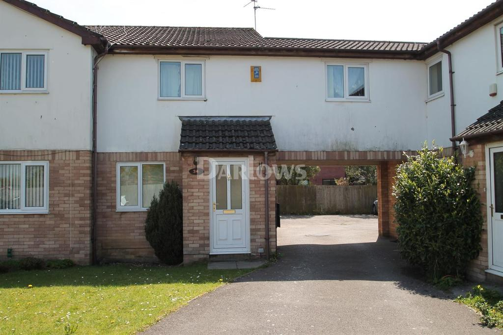 2 Bedrooms End Of Terrace House for sale in Bulrush Close, St Mellons, Cardiff