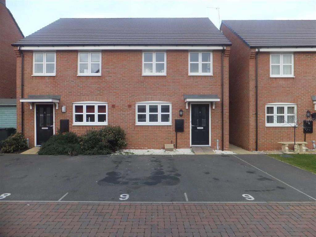 3 Bedrooms Semi Detached House for sale in Allen Close, Hinckley, Leicestershire, LE10