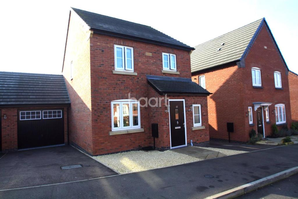 3 Bedrooms Detached House for sale in Mill Field Avenue, Countesthorpe