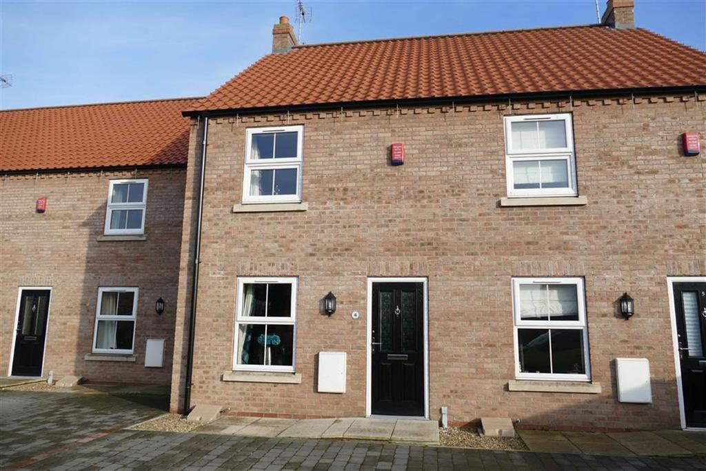 2 Bedrooms Terraced House for sale in Harold Elgey Close, Market Weighton