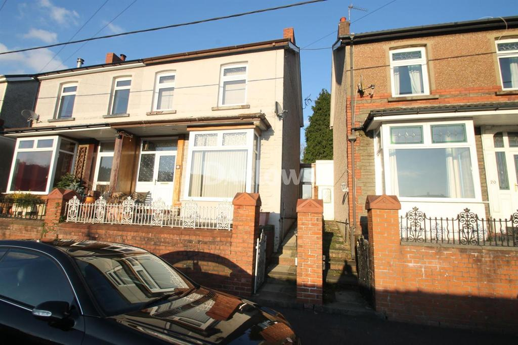 2 Bedrooms Semi Detached House for sale in Fife Street, Abercynon