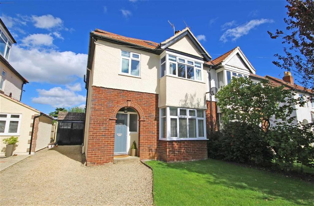 4 Bedrooms Semi Detached House for sale in Mead Road, Leckhampton, Cheltenham, GL53