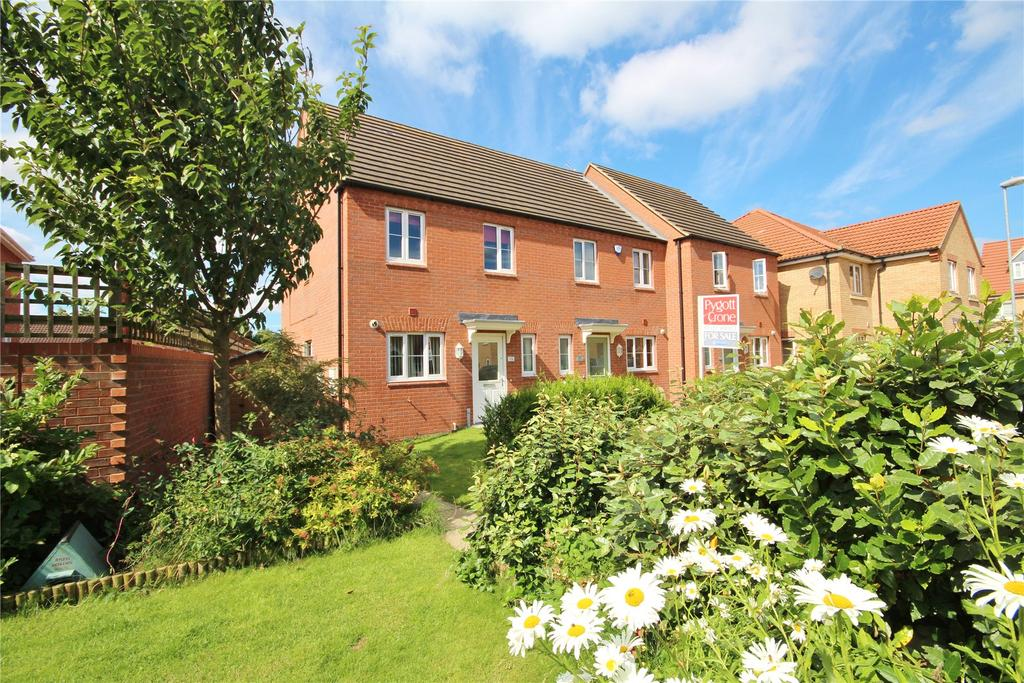 3 Bedrooms End Of Terrace House for sale in Pavillion Gardens, Lincoln, LN6