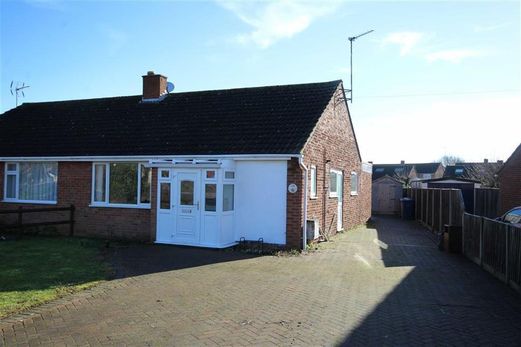 3 Bedrooms Semi Detached Bungalow for sale in Digby Drive, Tewkesbury, Gloucestershire