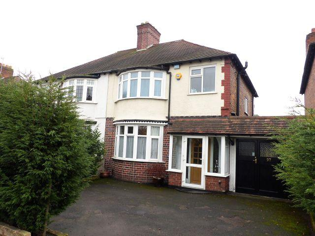 3 Bedrooms Semi Detached House for sale in College Road,Sutton Coldfield,