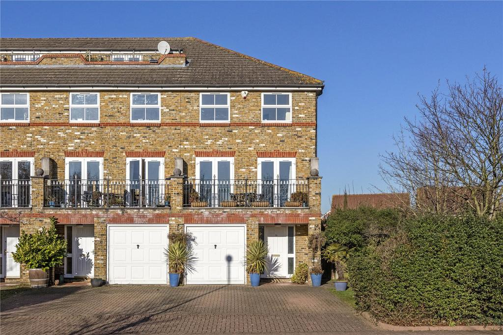 5 Bedrooms End Of Terrace House for sale in Chivenor Grove, Richmond, Surrey, KT2