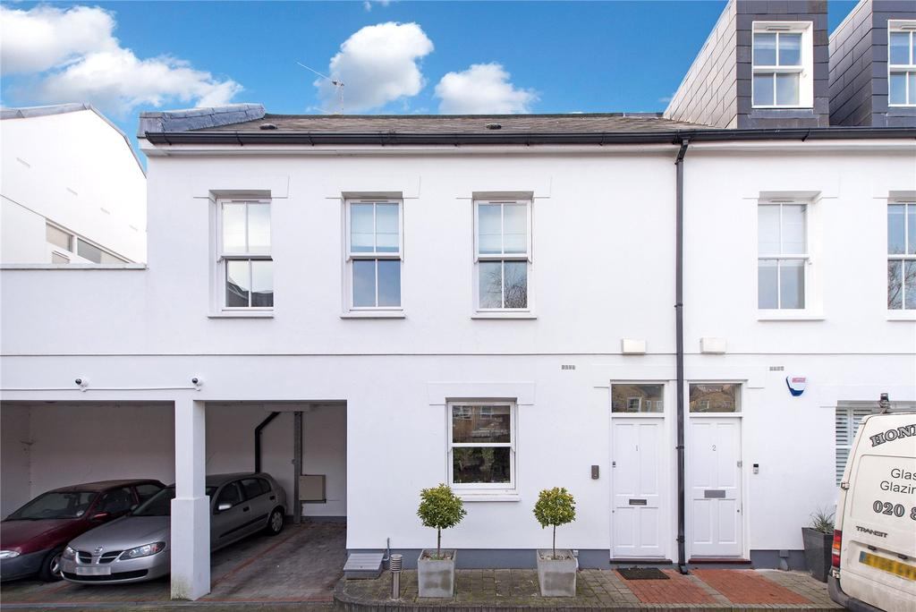 3 Bedrooms House for sale in Copper Mews, Reynolds Road, Chiswick, London