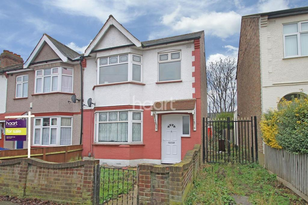 3 Bedrooms End Of Terrace House for sale in Kings Avenue, Chadwell Heath