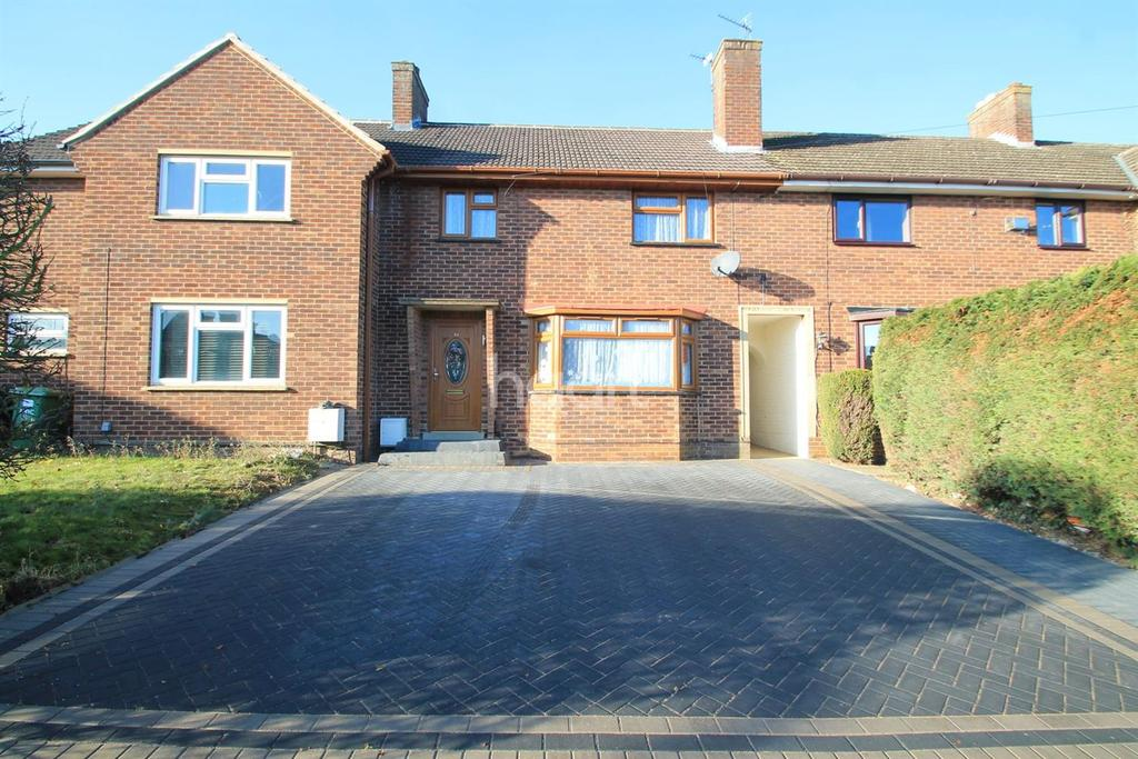 3 Bedrooms Terraced House for sale in Queens Gardens, Eaton Socon, St Neots