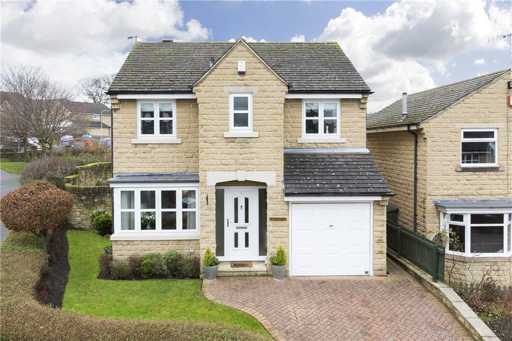 4 Bedrooms Detached House for sale in Slingsby Close, Apperley Bridge, Bradford, West Yorkshire