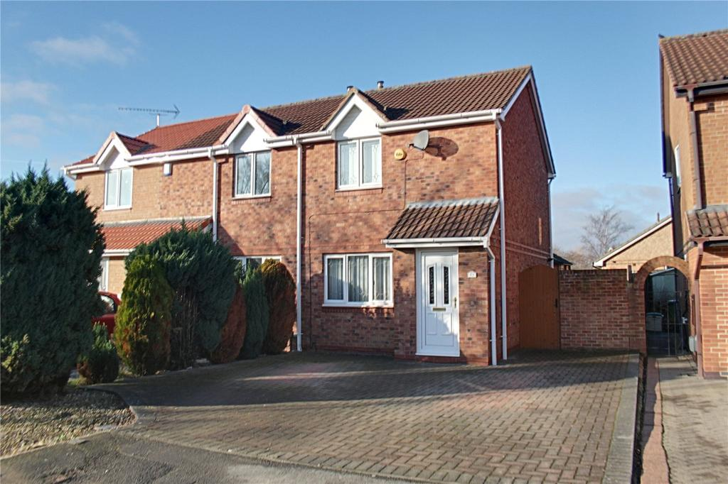 2 Bedrooms Semi Detached House for sale in Thatch Lane, Ingleby Barwick